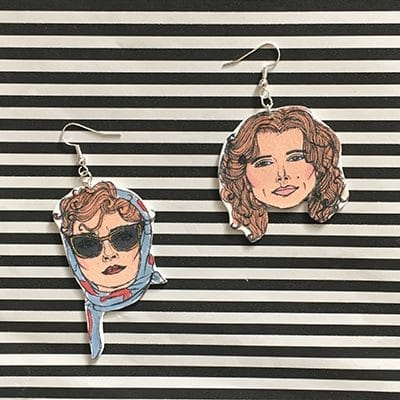 thelma and louise earrings