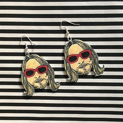 Kurt Cobain earrings