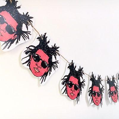 Jean-Michel Basquiat Bunting