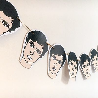 David Byrne bunting