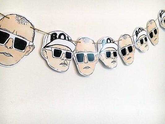 Pet Shop Boys Bunting