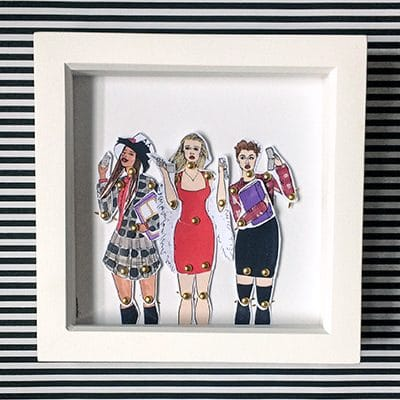 Clueless Framed doll set 1