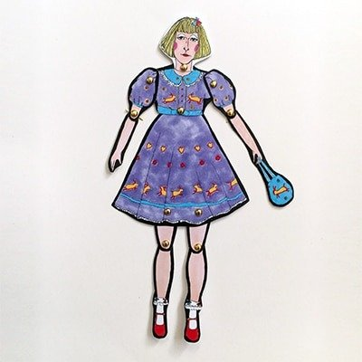 Grayson Perry Paper Doll 1