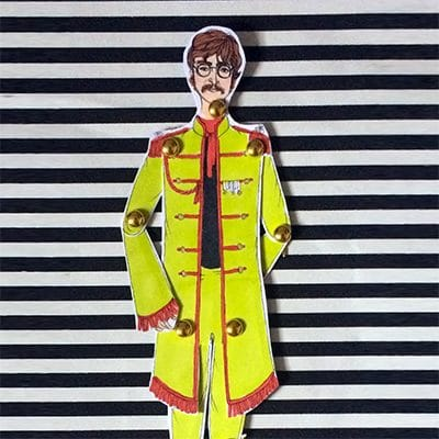 John Lennon Paper Doll 1