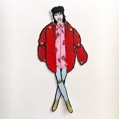 Noel Fielding Paper Doll 1