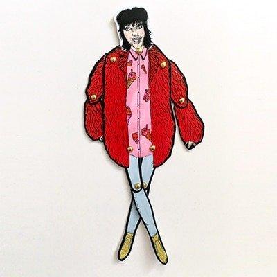 Noel Fielding Paper Doll 2