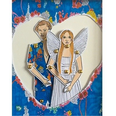 Romeo and Juliet Framed doll set 2