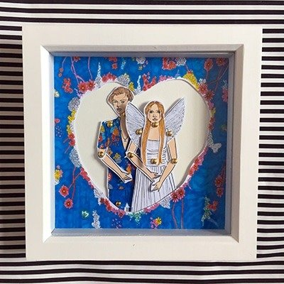 Romeo and Juliet Framed doll set 1