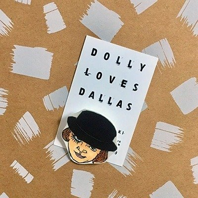 Clockwork Orange Pin